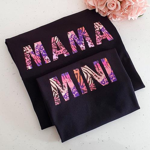 Mama and mini t-shirts