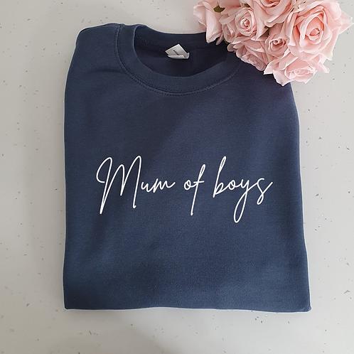 Mum Of Boys Sweater