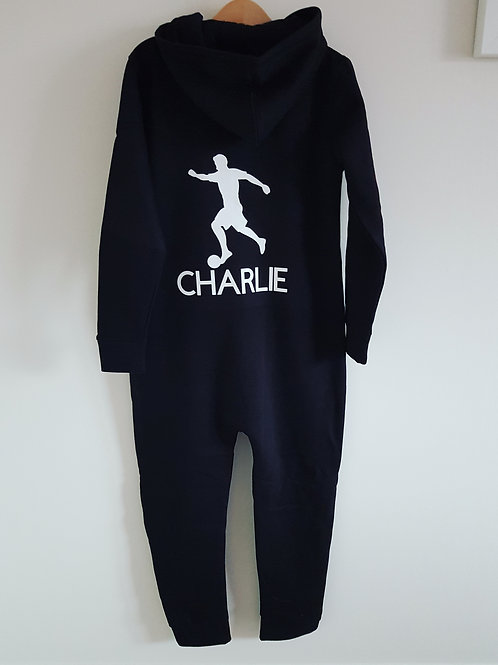 Personalised Footballer Onesie