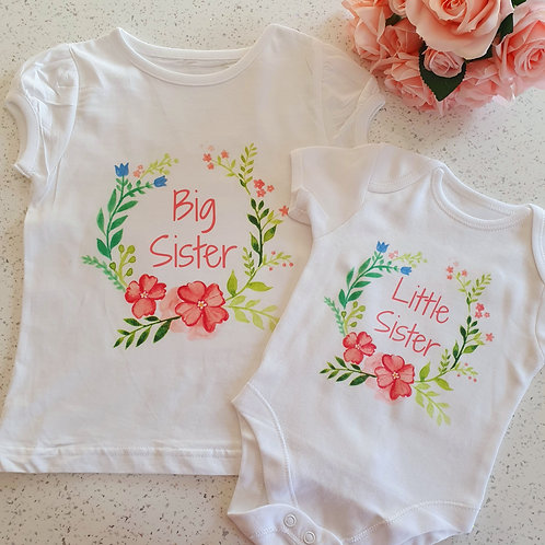 Big Sister Little Sister T-Shirt / Bodysuit