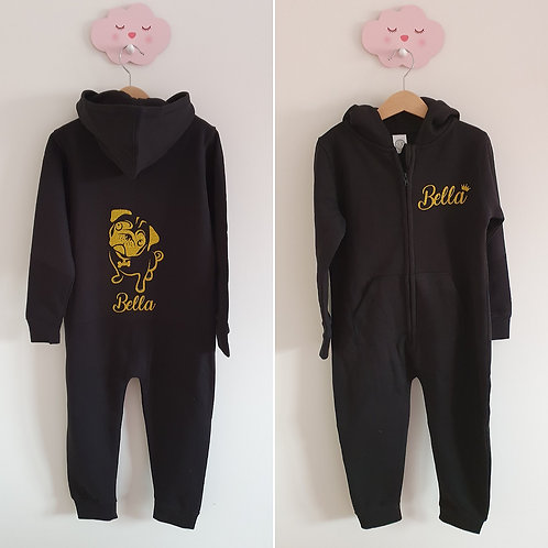 Cute Personalised Pug Onesie