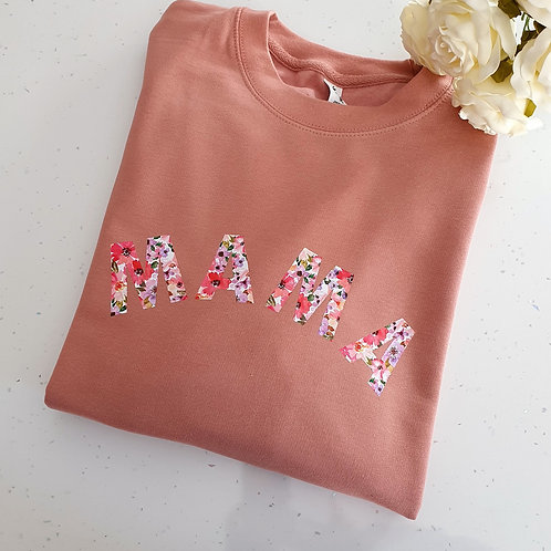 Floral Mama Sweater