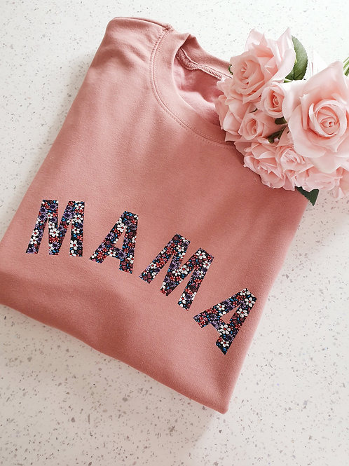 Dusty Pink Mama Sweater