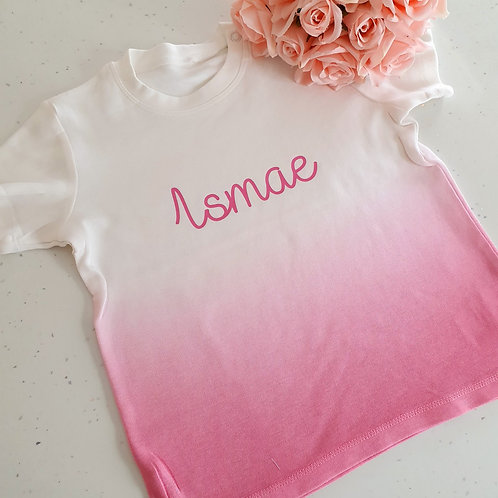Baby Toddler Dip Dye T-Shirt