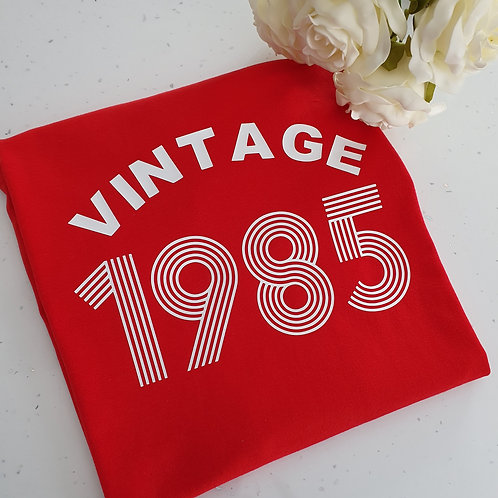 Vintage Birthday T-Shirt