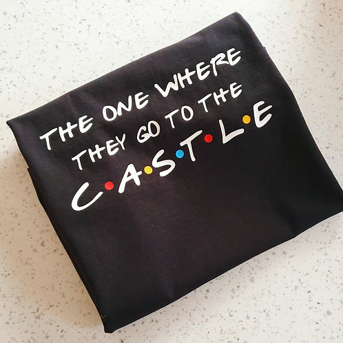 The one where they go to the castle t-shirt