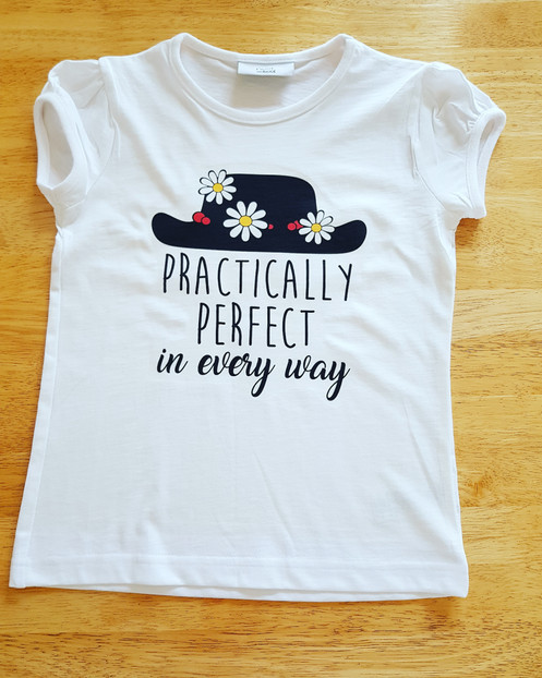b31f5fc0 Mary Poppins t-shirt. Practically perfect in every way
