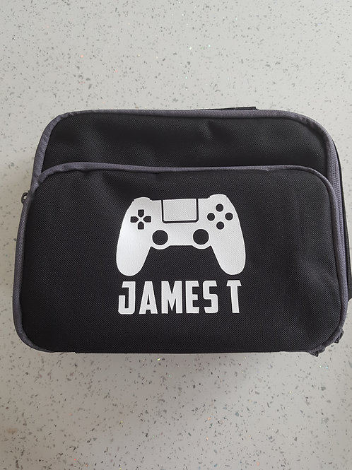 Personalised Games Console Lunch Bag