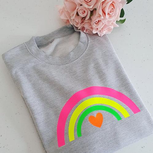 Neon Rainbow Sweater