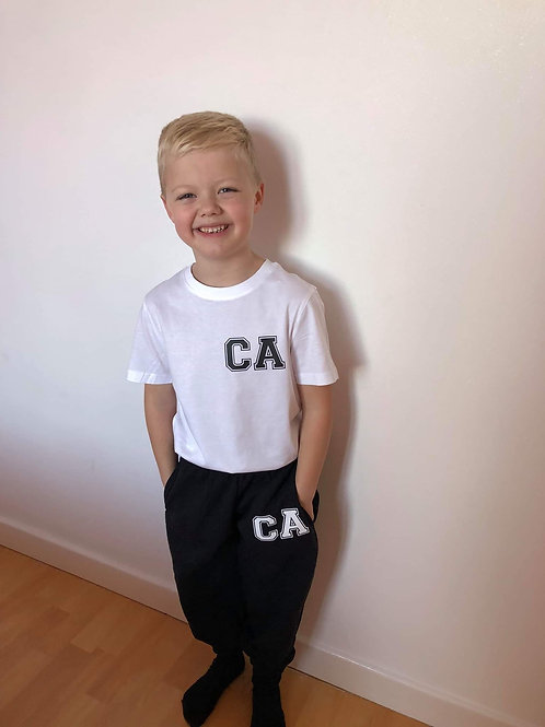 kids initial tracksuit