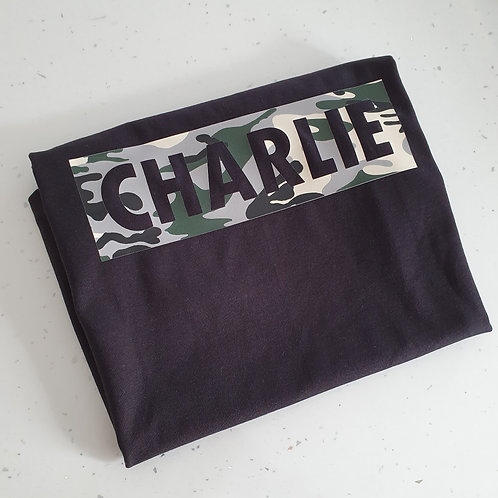 Personalised Camo T-Shirt