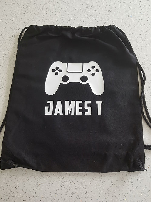 Personalised Games Console PE Bag