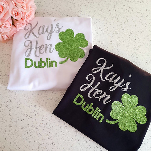 Shamrock Hen Party T-Shirts