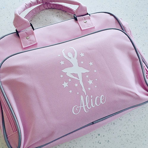 Personalised Ballerina Dance Bag