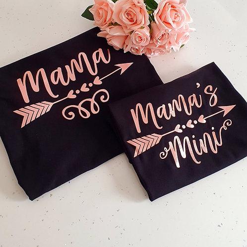 Mama/ Mama's Mini T-Shirts