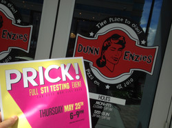 Dunn Enzies supports PRICK!