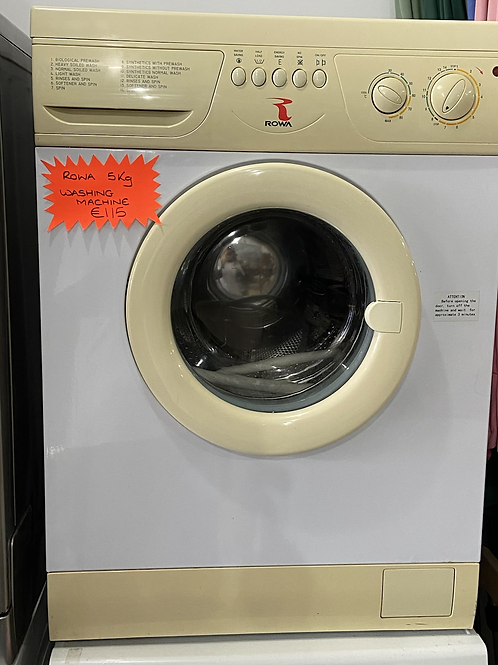 ROWA 5Kg washing machine