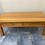 Thumbnail: Oak coffee table with 2 drawers