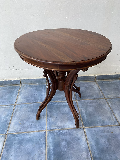 Genuine antique Indian wood parlour table