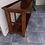 Thumbnail: Cherry wood console table