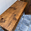 Thumbnail: Large authentic original Mexican Pine console table