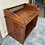 Thumbnail: Indian wood unit/open storage chest with decorative lattice detail