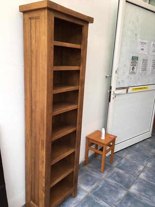 Heavy high quality wood shelving unit