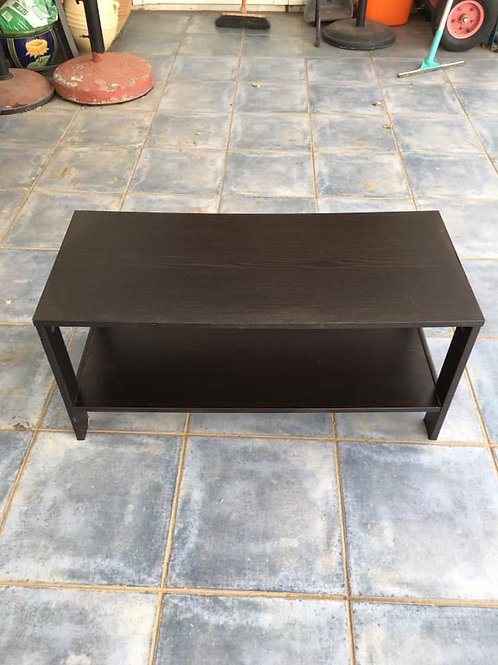Small black occasional table