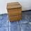 Thumbnail: Oak veneer 2 drawer unit