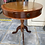 Thumbnail: American cherry occasional table with 3 drawers and leather inlay