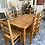 Thumbnail: Mexican pine dining table and 6 chairs