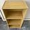 Thumbnail: Light wood veneer bookcase