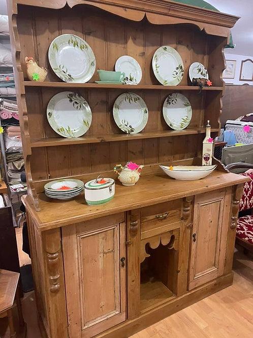 Original antique pine Welsh Dresser