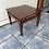 Thumbnail: Dark wood coffee table 55x55 42h