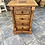 Thumbnail: Indian wood chest of 4 drawers