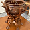 Thumbnail: Unusual Indian wood hand carved camel bowl stand
