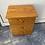 Thumbnail: Pine veneer small chest of 3 drawers