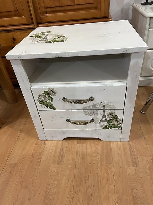 Shabby chic 2 drawer unit