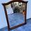 Thumbnail: Lovely dark wood mirror