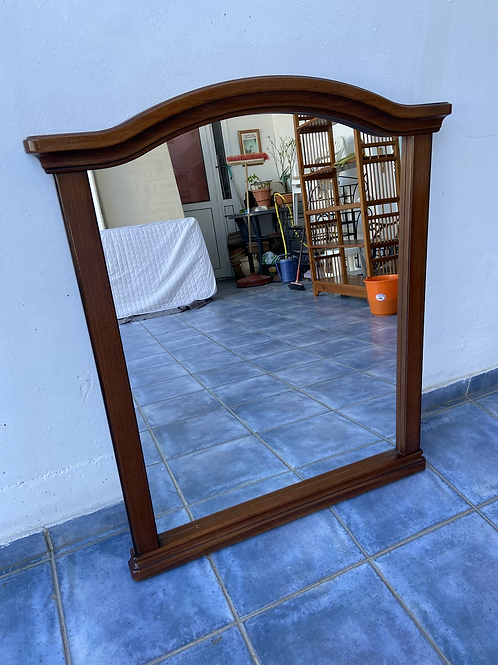 Lovely dark wood mirror