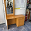 Thumbnail: Pine veneer dressing table with 1 drawer and 1 cupboard