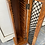 Thumbnail: Indian wood CD (32) cabinet with metal lattice front
