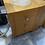 Thumbnail: 2 modern heavy oak 3 drawer bedsides