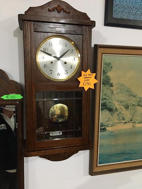 Old Dutch oak Warmink wall clock