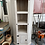 Thumbnail: Lime washed Mexican Pine corner unit with shelving and one cupboard