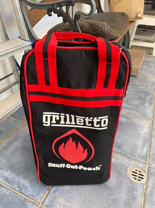 Son of Hibachi brand new griletto barbecue with snuff out pouch