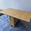 Thumbnail: Solid heavy beech drop leaf space saving table