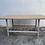Thumbnail: Light wood veneer with metal frame coffee table