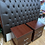 Thumbnail: Magnificent headboard (SOLD) and 2 bedsides