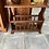 Thumbnail: Oak side table with magazine rack